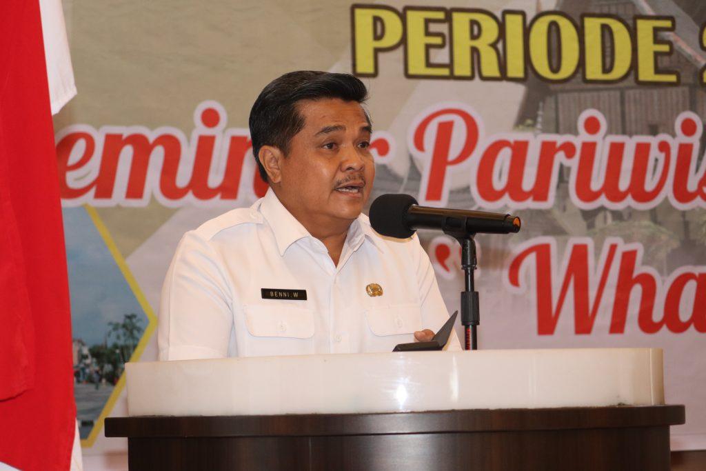 Asisten II Gubernur Sumbar Pak Beny