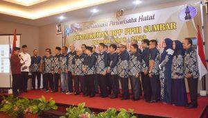 Pelantikan dan pengukuhan Perkumpulan pariwisata halal indonesia sumbar