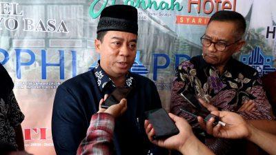Konfrensi pers wisata halal sumbar